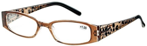 Fashion reading glasses brown