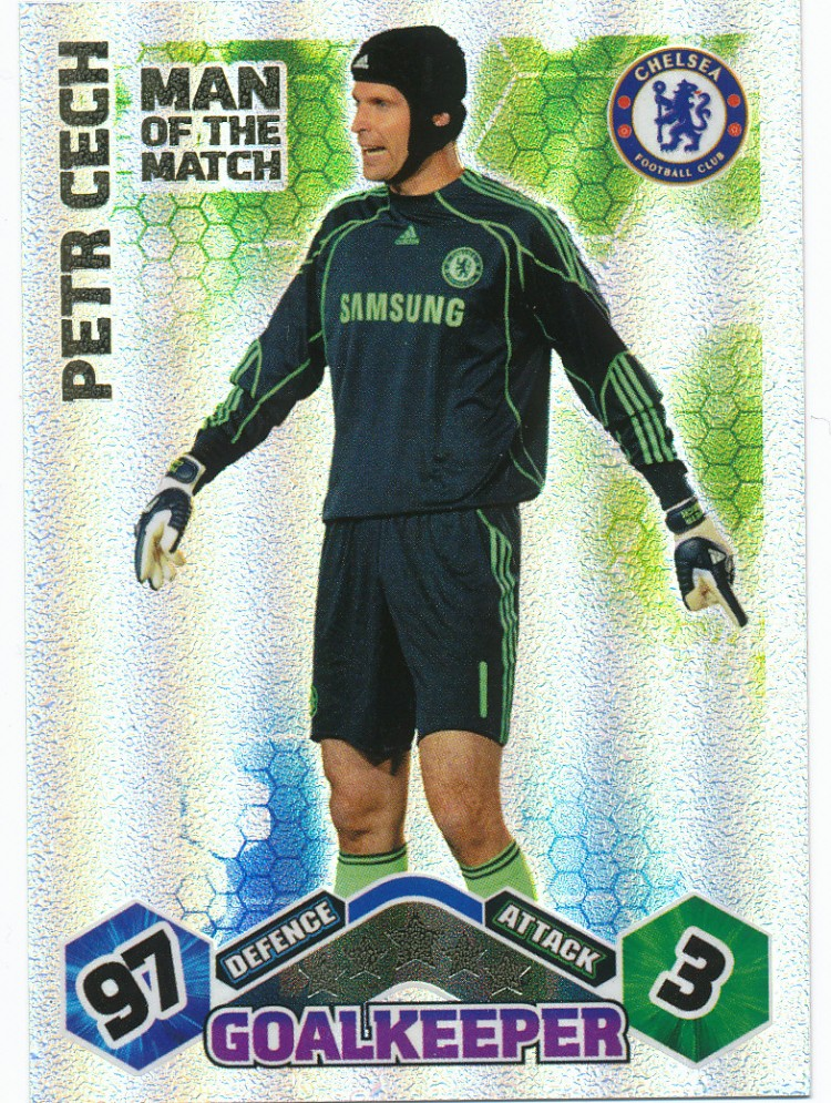 Match Attax 0910 Man Of The Match Petr Cech on Latest What To Write In A Birthday Card