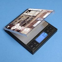 DIGITAL POCKET SCALE CD STYLE 1000g with counter