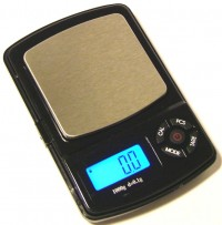 20 Mini pocket LCD  scale 1000g  6 weighing modes